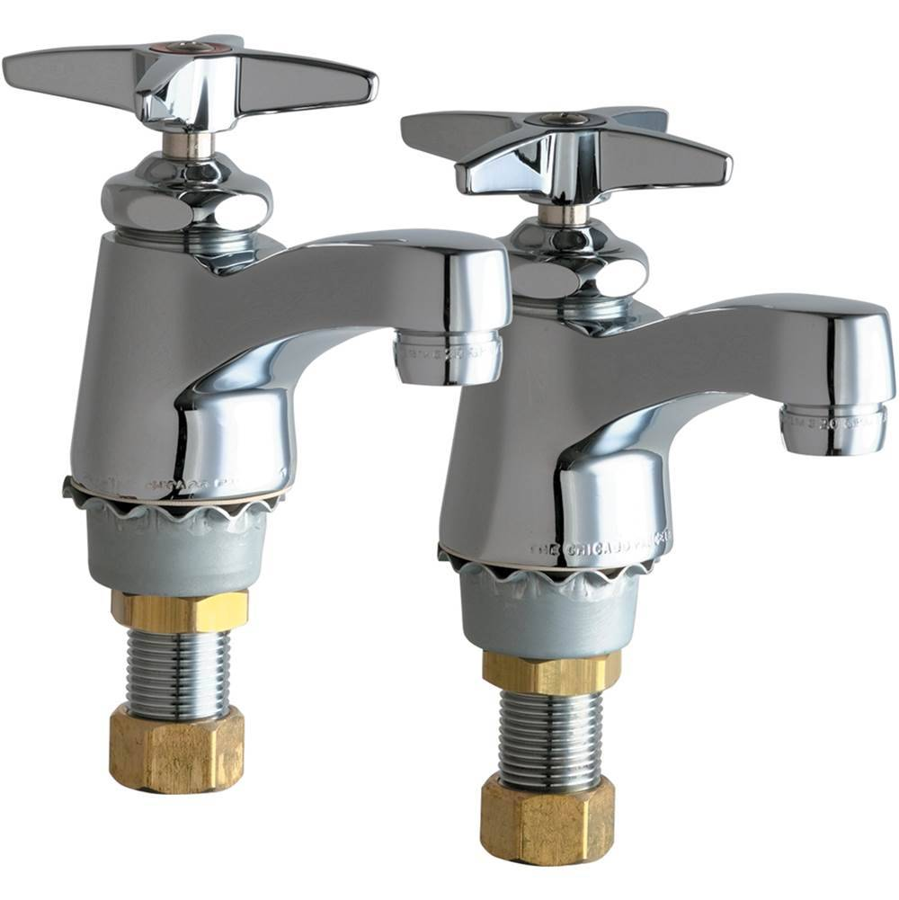 Chicago Faucets - 700-PRABCP Single Supply Hot / Cold ...