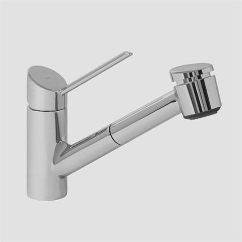 KWC 10 021 033 127 LL EDGE Single Lever Kitchen Faucet